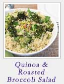 Quinoa and Roasted Broccoli Salad