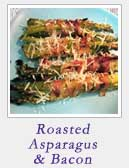 Roasted Asparagus and Bacon