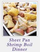 Sheet Pan Shrimp Boil Dinner | 2 Cookin Mamas