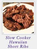 Slow Cooker Hawaiian Short Ribs