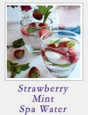 Strawberry Mint Spa Water|2CookinMamas