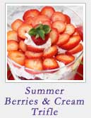 Summer Berries and Cream Trifle | 2 Cookin Mamas