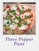 Three Pepper Pizza