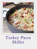 Turkey Pasta Skillet | 2 Cookin Mamas