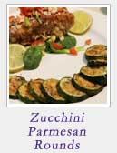Zucchini Parmesan Rounds