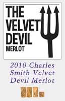 2010 Charles Smith Velvet Devil Merlot
