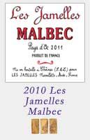 2010 Les Jamelles Malbec