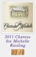 2011 Chateau Ste Michelle Riesling