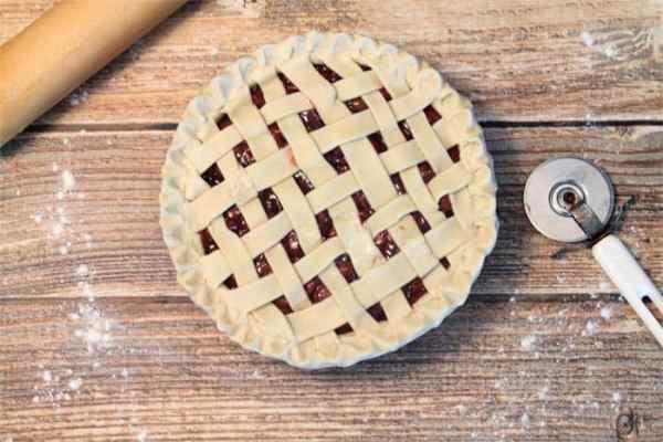 Cherry Pie prep   2 Cookin Mamas