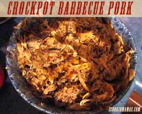 Crockpot BBQ Pork | 2CookinMamas