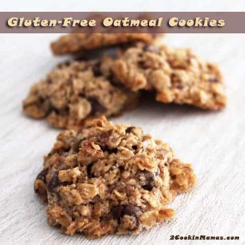 Gluten Free Oatmeal Cookies | 2CookinMamas