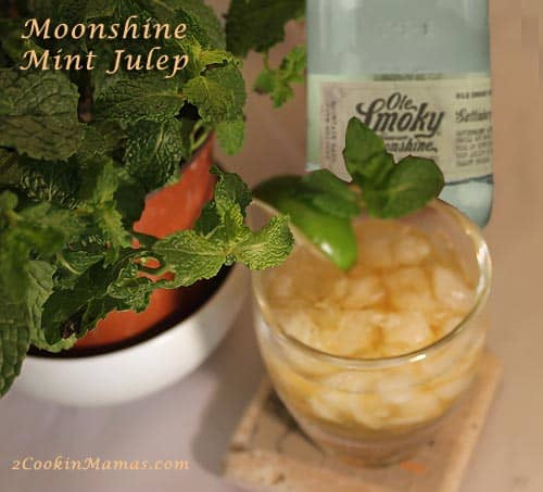 Moonshine Mint Julep | 2CookinMamas