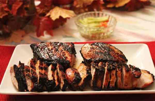 Honey Garlic Pork Chops 2 | 2 Cookin Mamas