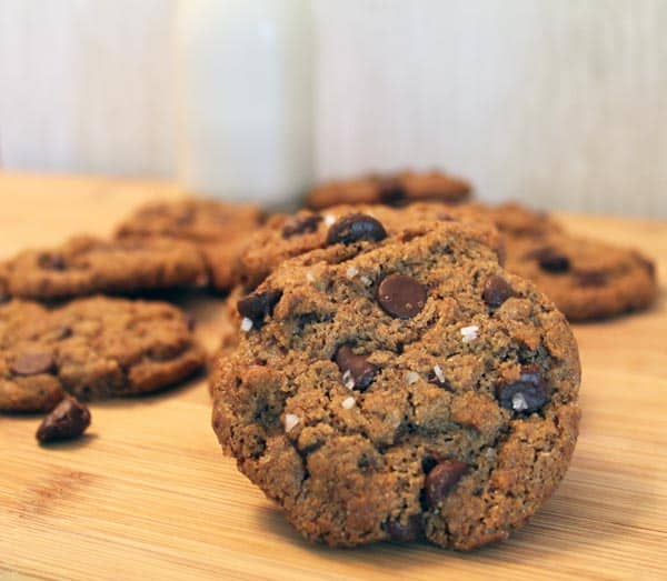 Nut Butter Cookie close up | 2CookinMamas