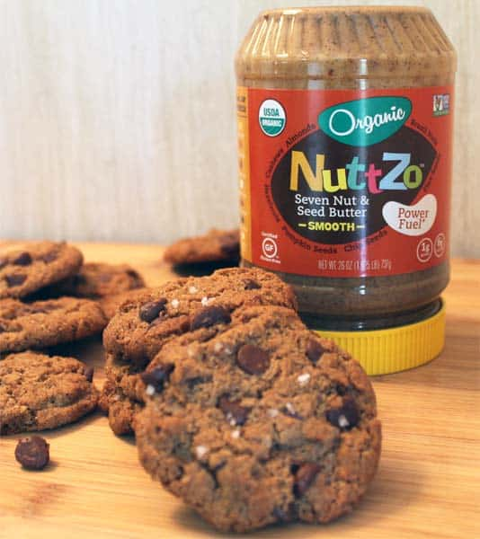 Nut Butter Cookies with NuttZo