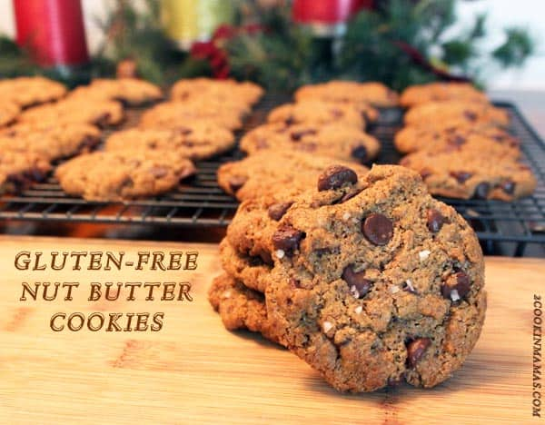 Nut Butter Cookies | 2CookinMamas