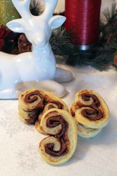Nutella Palmiers close up | 2CookinMamas