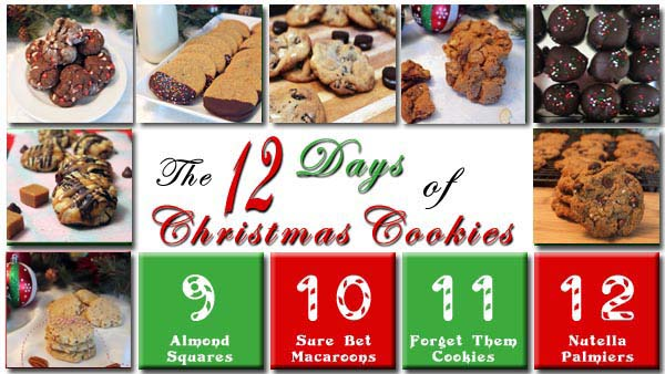 The 12 Days of Christmas Cookies Day 8 | 2CookinMamas