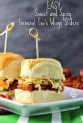 General Tso's Wings Sliders from Renee's Kitchen Adventures