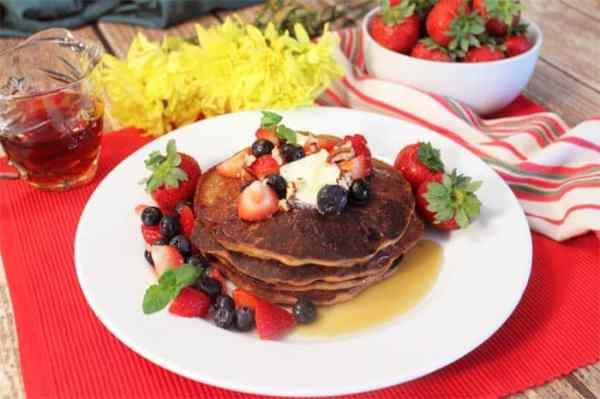 Protein Pancakes | 2 Cookin Mamas