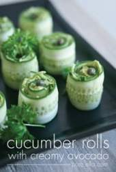 Cucumber Rolls from Pure Ella