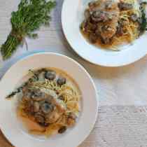 Chicken in Asiago Cream Sauce 1 | 2CookinMamas