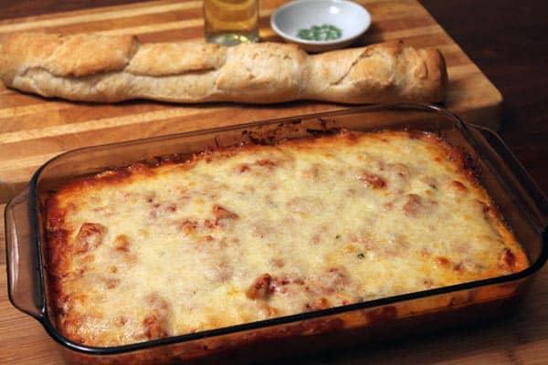 Italian Chicken Noodle Casserole | 2CookinMamas