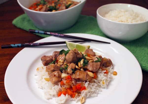 Caramelized Pork Stir Fry 1 | CookinMamas