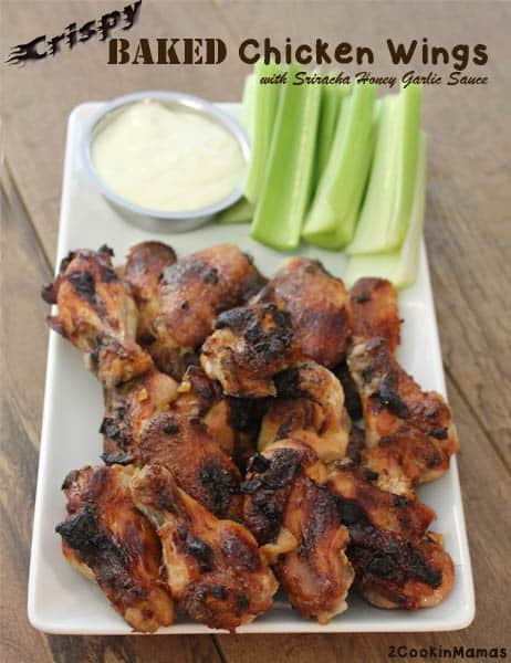 Crispy Baked Chicken Wings | 2CookinMamas