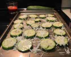 Zucchini Parmesan Rounds 1