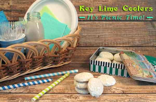 Key Lime Coolers Picnic Time 1| 2CookinMamas