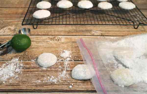Key Lime Coolers finishing touches|2CookinMamas