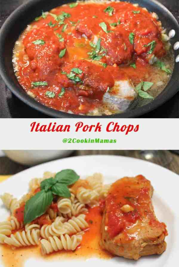 Italian Pork Chops | 2CookinMamas