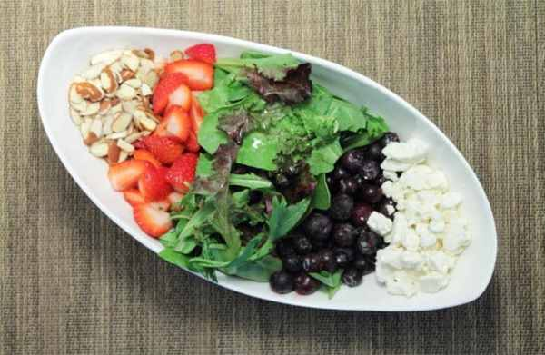 Red White and Blue Salad deconstructed 2|2CookinMamas
