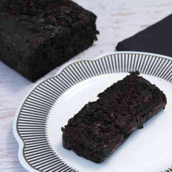 Double Chocolate Zucchini Bread square 2CookinMamas