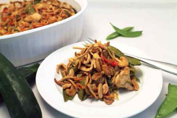 Chinese Chicken Casserole 670  2CookinMamas