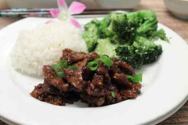 PF Changs Copycat Mongolian Beef closeup2 | 2CookinMamas