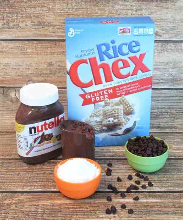 Nutella Puppy Chow Ingredients|2CookinMamas
