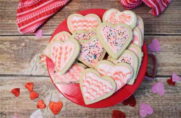Sweet Heart Cookies 670|2CookinMamas