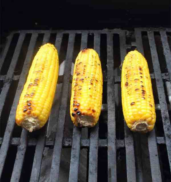 Roasted Corn Salad Grilling | 2 Cookin Mamas