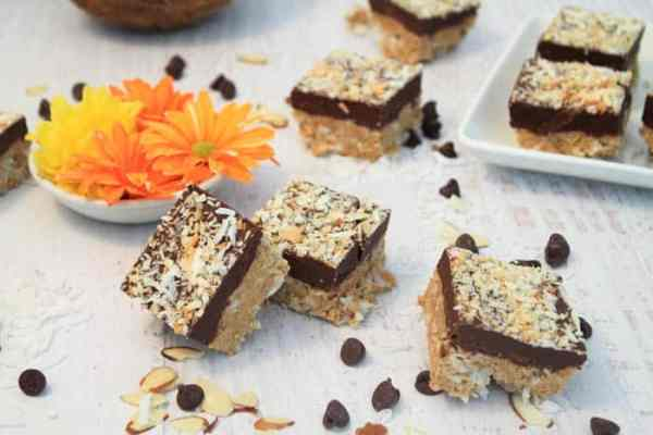 No Bake Almond Joy Bars 5 | 2 Cookin Mamas