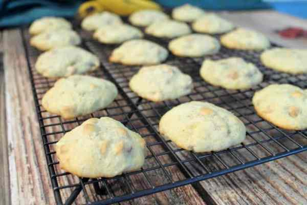 Peanut Butter and Banana Cookies baked | 2 Cookin Mamas