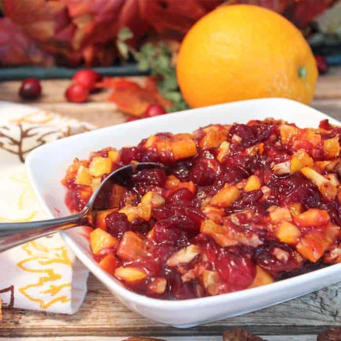 Homemade Cranberry Orange Relish