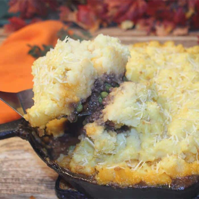 One Skillet Shepherds Pie