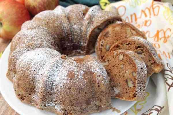 One Bowl Apple Food closeup | 2 Cookin Mamas