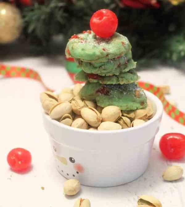 Pistachio Cherry Meltaway Cookies 14 | 2 Cookin Mamas