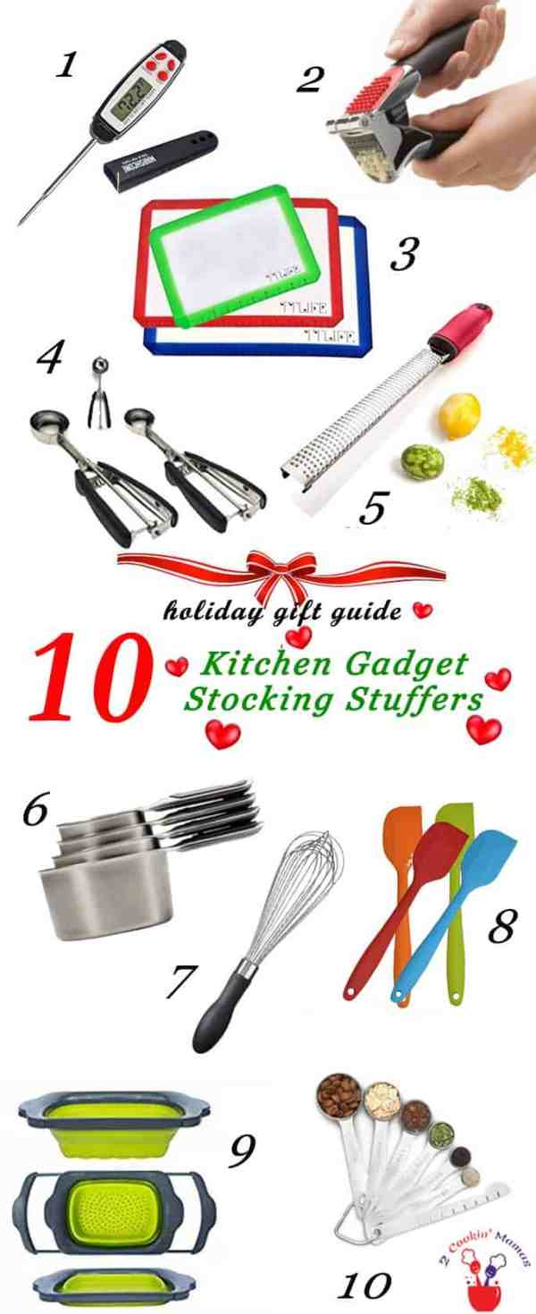 Holiday Gift Guide Kitchen Gadgets 2016 | 2 Cookin Mamas Kitchen Gadget Stocking Stuffers