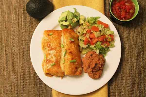 Chicken Enchiladas 3   2 Cookin Mamas