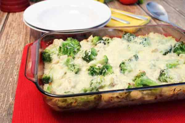 Chicken Ravioli Lasagna baked | 2 Cookin Mamas