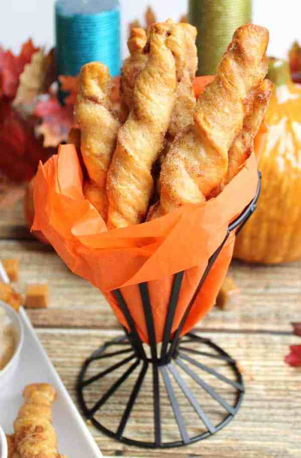 Apple-Pie-Twists-served | 2 Cookin Mamas